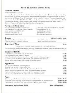 Room 39 menu001